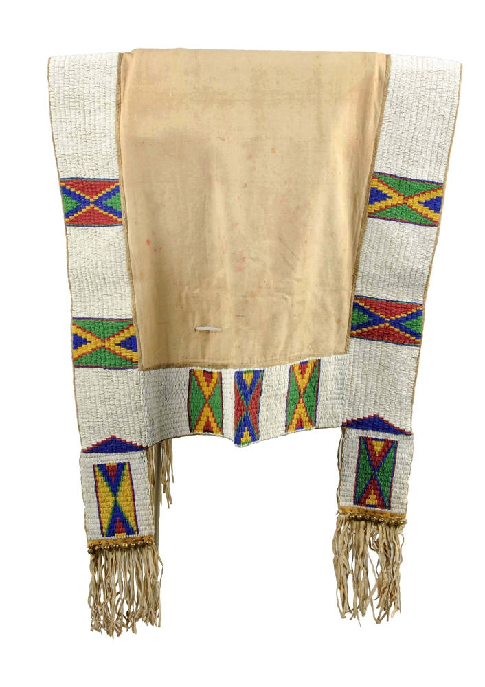 Plains Beaded Saddle Blanket.