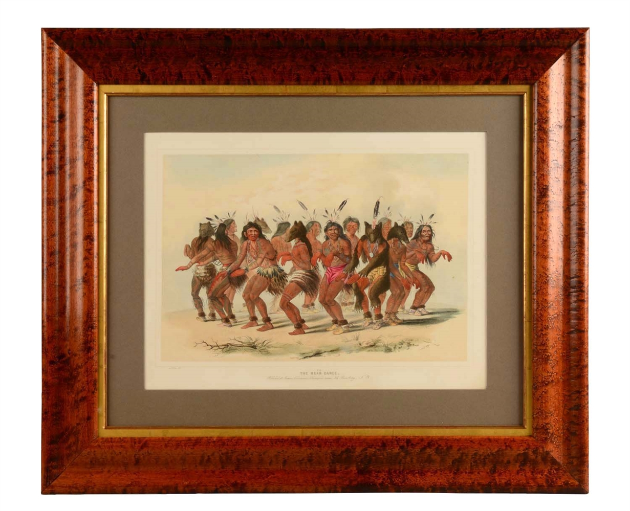 Framed The Bear Dance by Catlin.