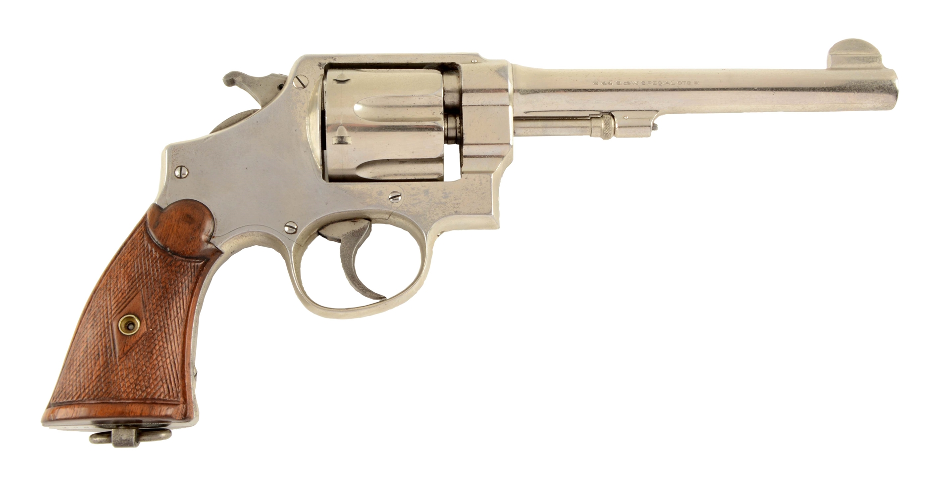 (C) S&W .44 2nd Model Hand Ejector Revolver.