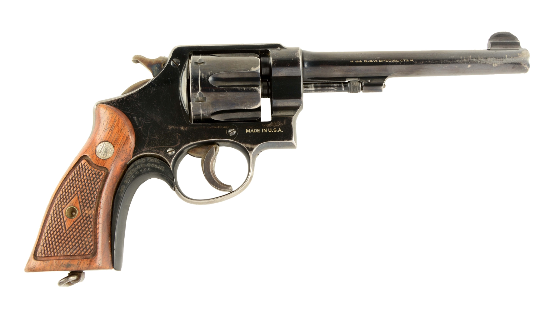 (C) S&W 2nd Model .44 Hand Ejector Revolver.