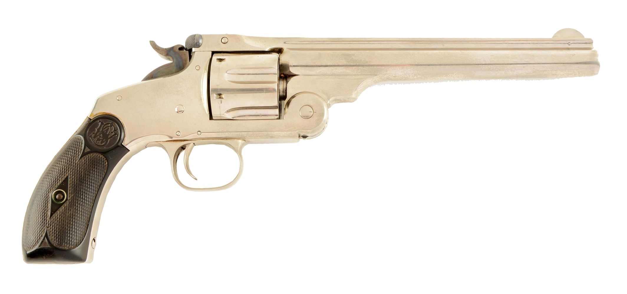 (A) S&W New Model No. 3 Austrialian Contract Russian Revolver.