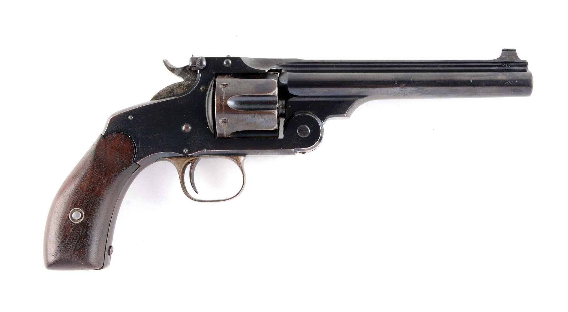 (A) S&W New Model No. 3 Target Revolver.
