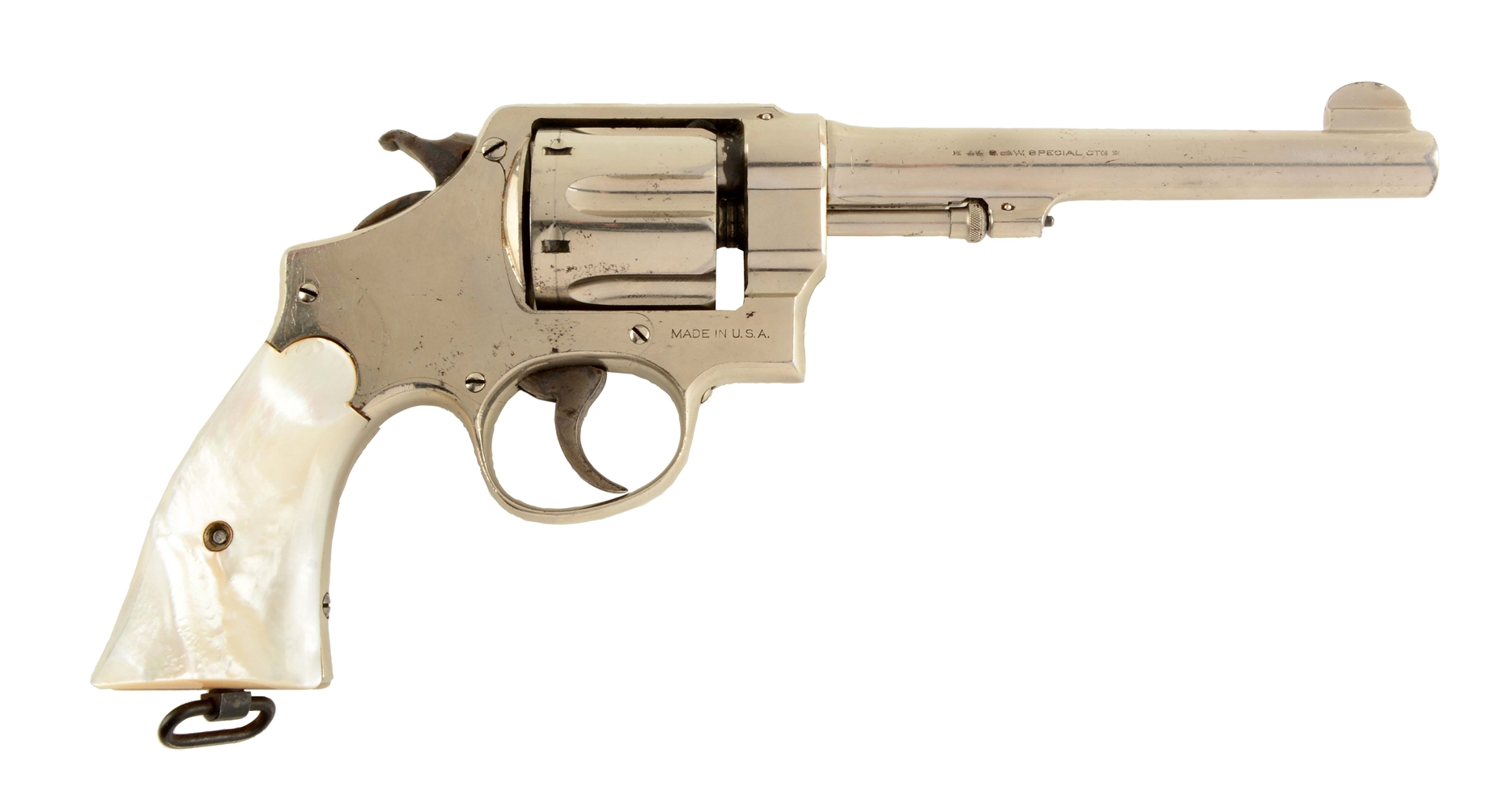 (C) S&W .44 2nd Model Hand Ejector Revolver (Wolf & Klar).