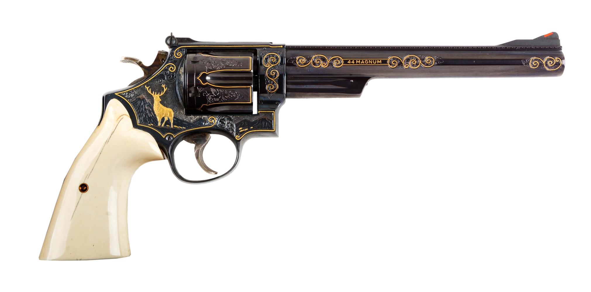 (M) Engraved & Inlaid S&W Model 29-2 Double Action Revolver.