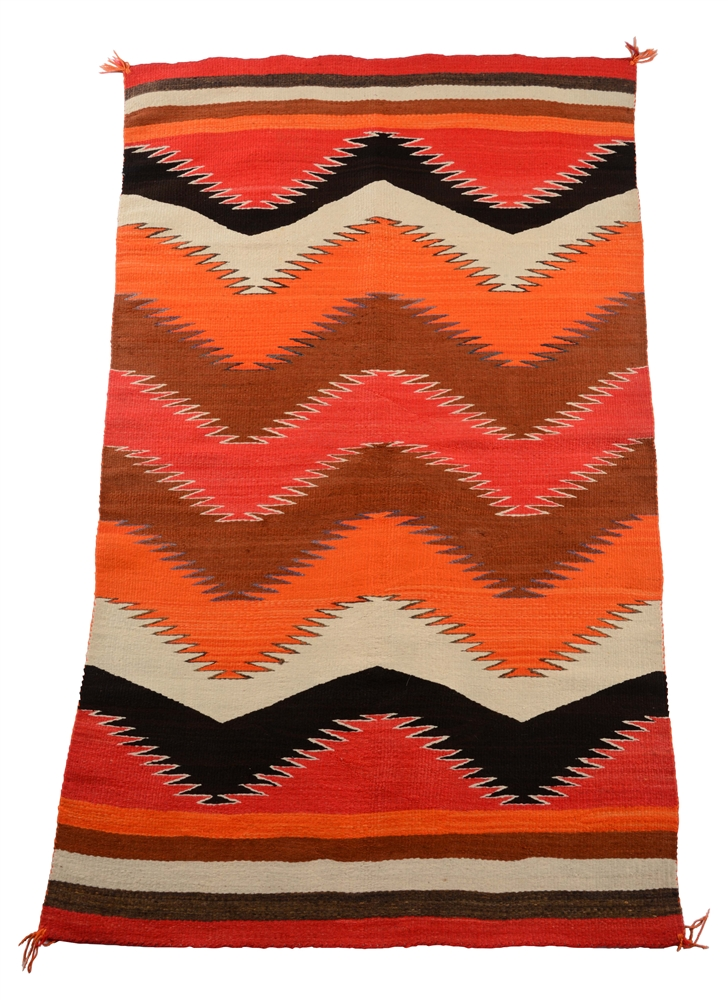 Navajo Transitional Weaving.