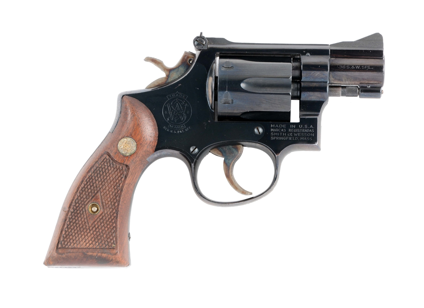 (C) U.S. Air Force Smith and Wesson Model 56 Double Action Revolver.