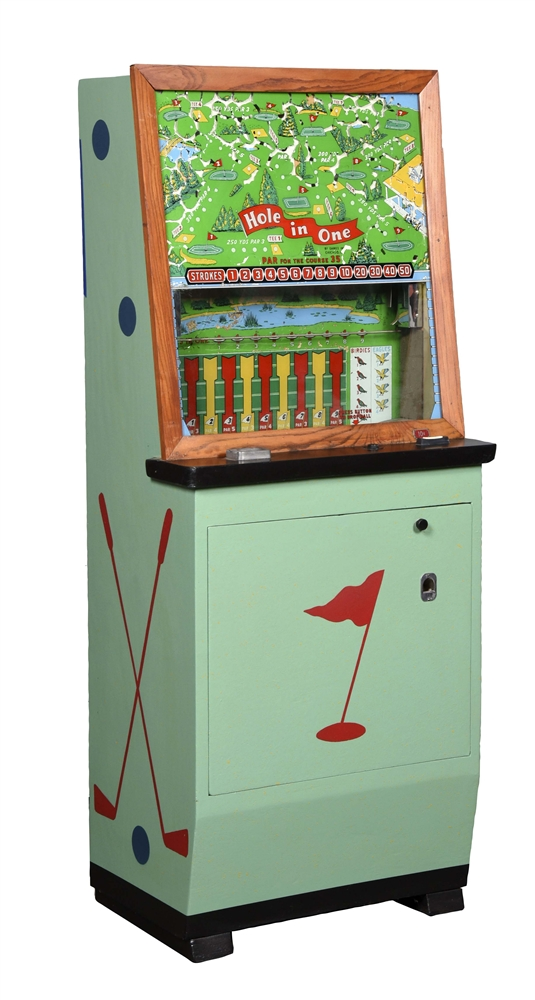 10¢ Games, Inc. Hole In One Golf Arcade Game.