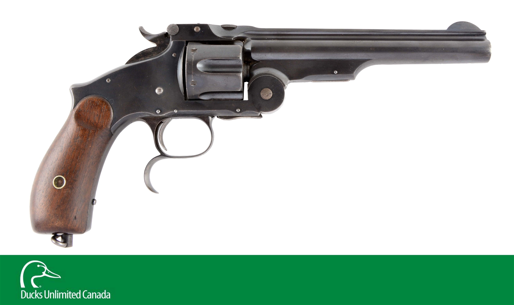 (A^) S&W Russian No. 3 3rd Model Single Action Revolver.