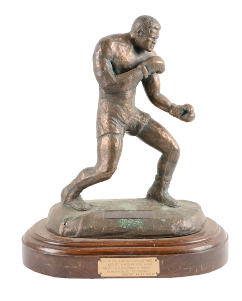 "Sport Gloves Bronze Morph Ft: ""The Greatest"" Statue By Joe Olmos 1973"