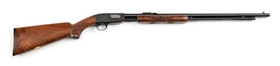 (C) Deluxe Winchester Model 61 .22 Magnum Slide Action Rifle (1962).