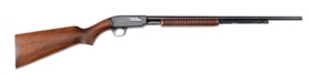 "(C) Winchester Model 61  ""Routledge"" Smoothbore ""Shot Only"" Pump Action (1940)."