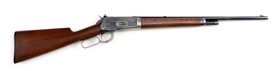 (C) WINCHESTER MODEL 1886 .45-90 CALIBER EXTRA LIGHTWEIGHT TAKEDOWN RIFLE (1905)