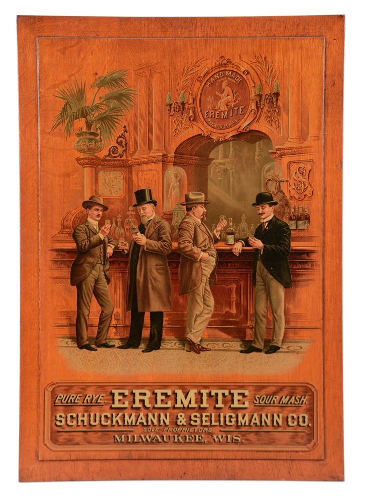 Eremite Pure Rye Sour Mash Wooden Sign.