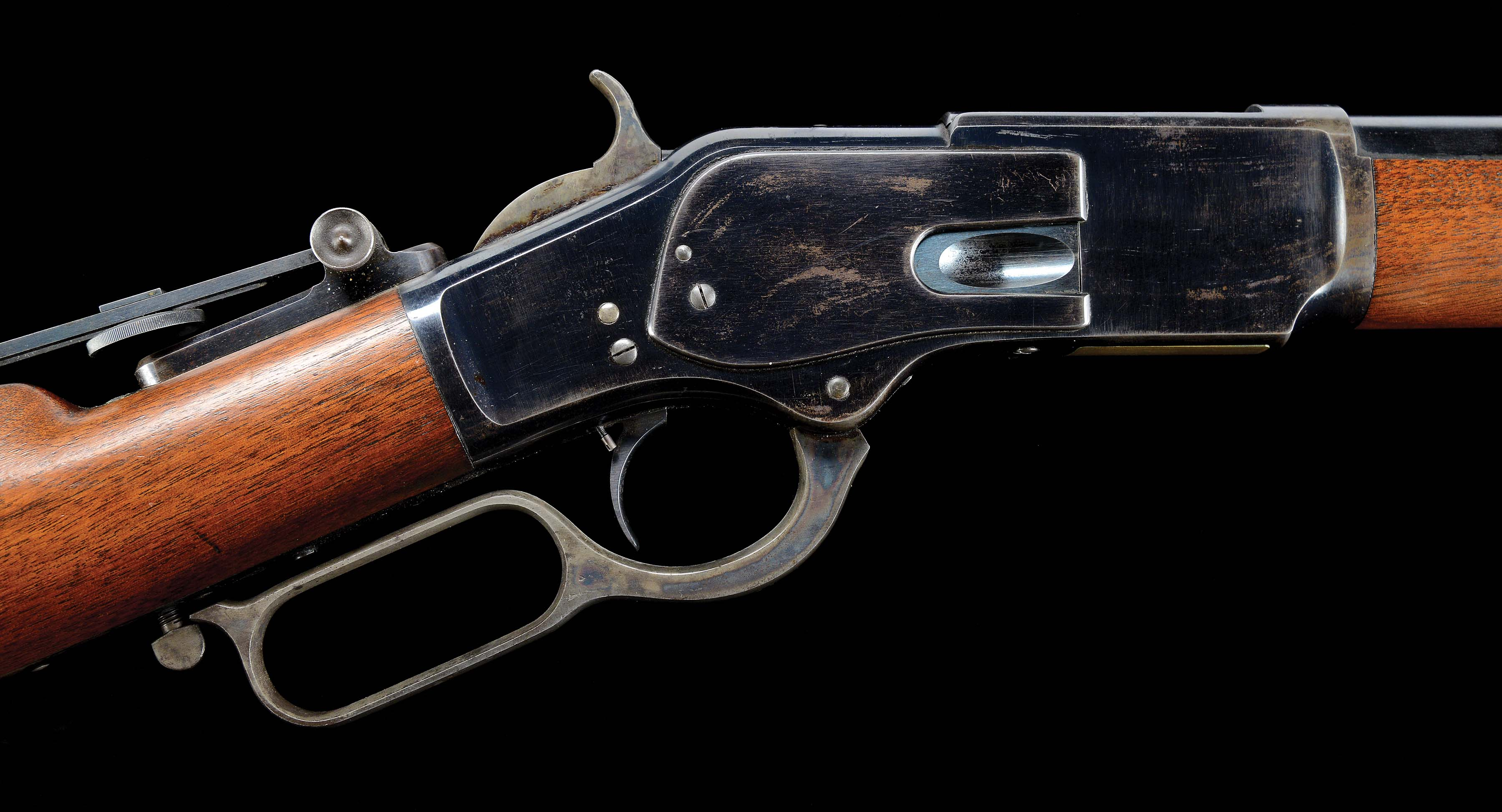 Lot Detail - (A) FANTASTIC WINCHESTER FIRST MODEL 1873