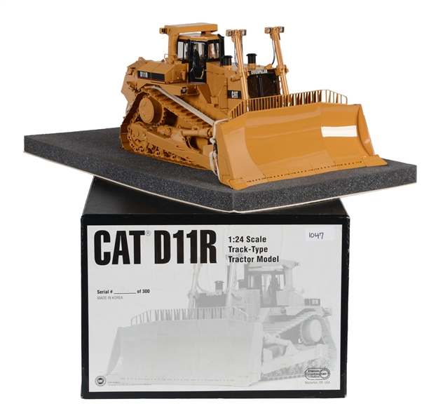 Classic Construction Models Die-Cast Cat D11R Tractor In Box.