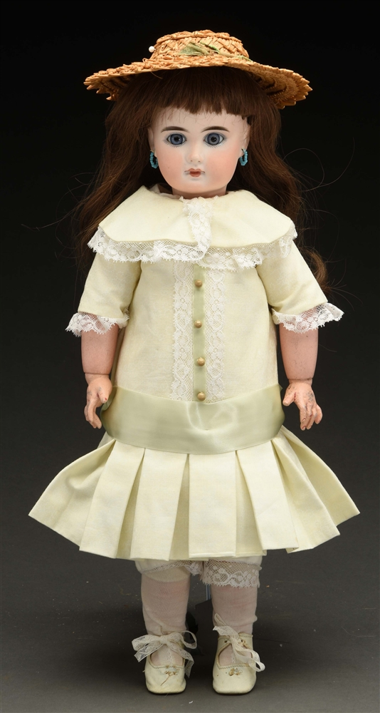 Unmarked Mystery Doll.