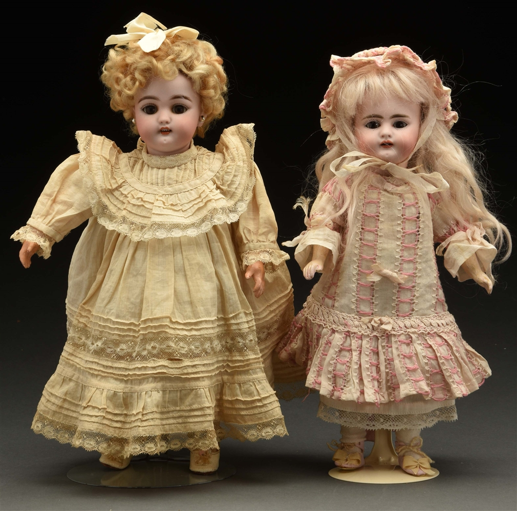 Lot of 2: Petite Simon & Halbig Dolls.