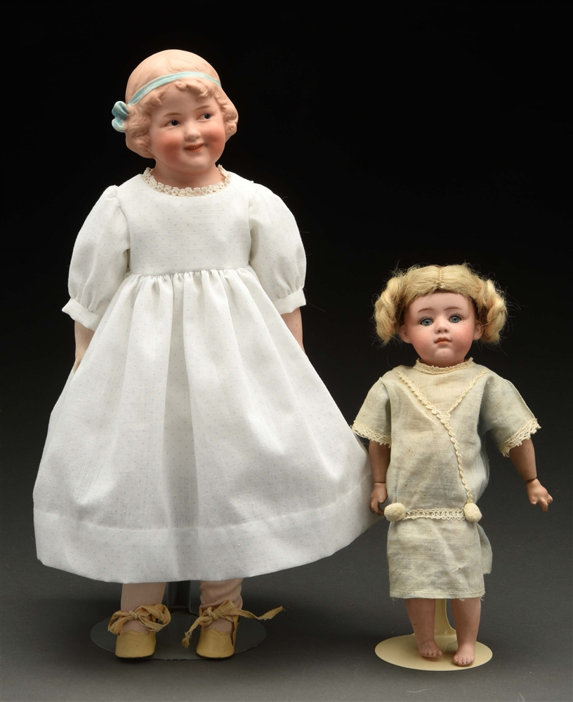 Lot of 2: Gebruder Heubach Character Dolls.