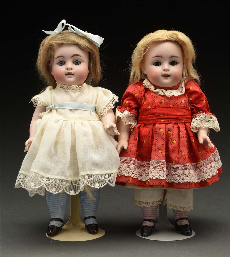 Lot of 2: All Bisque Kestner Dolls.
