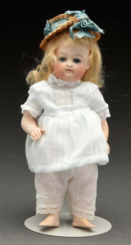 All Bisque Doll with Bare Feet.