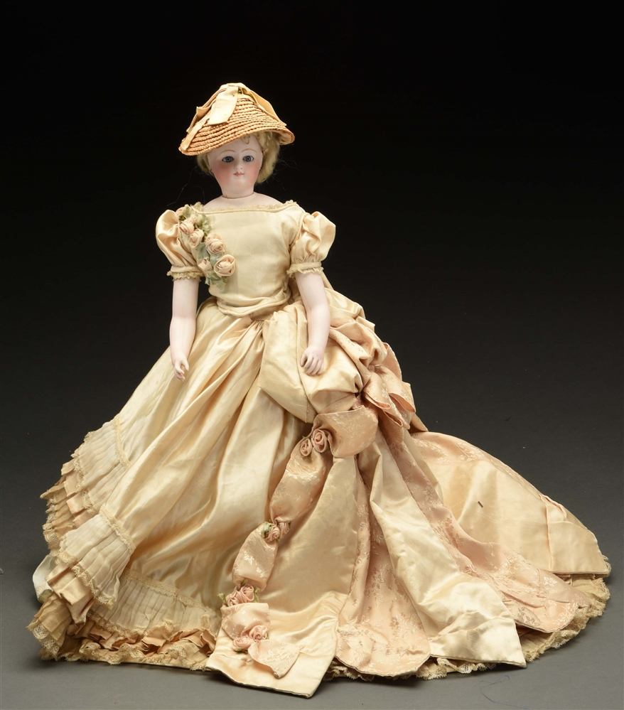 Impressive French Fashion Doll.