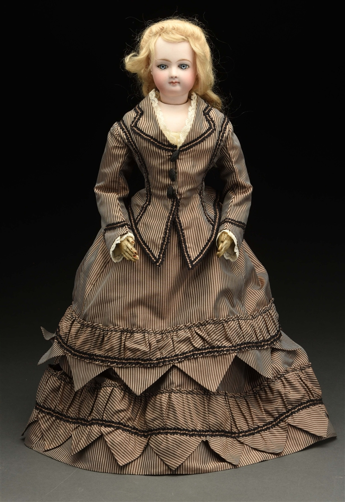 Beautiful French Fashion Doll Attributed to Jumeau.