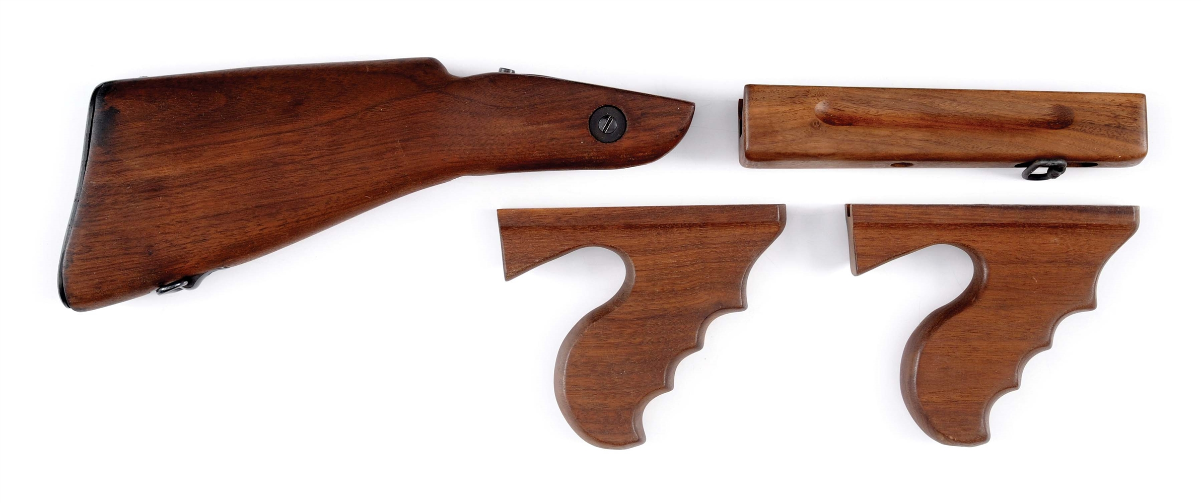 Utterly Fantastic Grouping of Rare & Desirable Vintage Thompson Machine Gun Parts & Accessories.