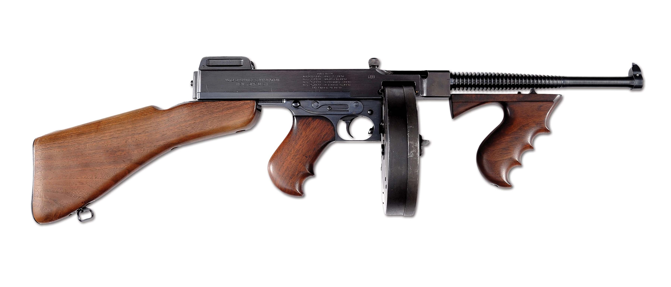 (N) Extremely Low Number Colt 1921A Thompson Machine Gun with Extra Accessories (Curio & Relic).