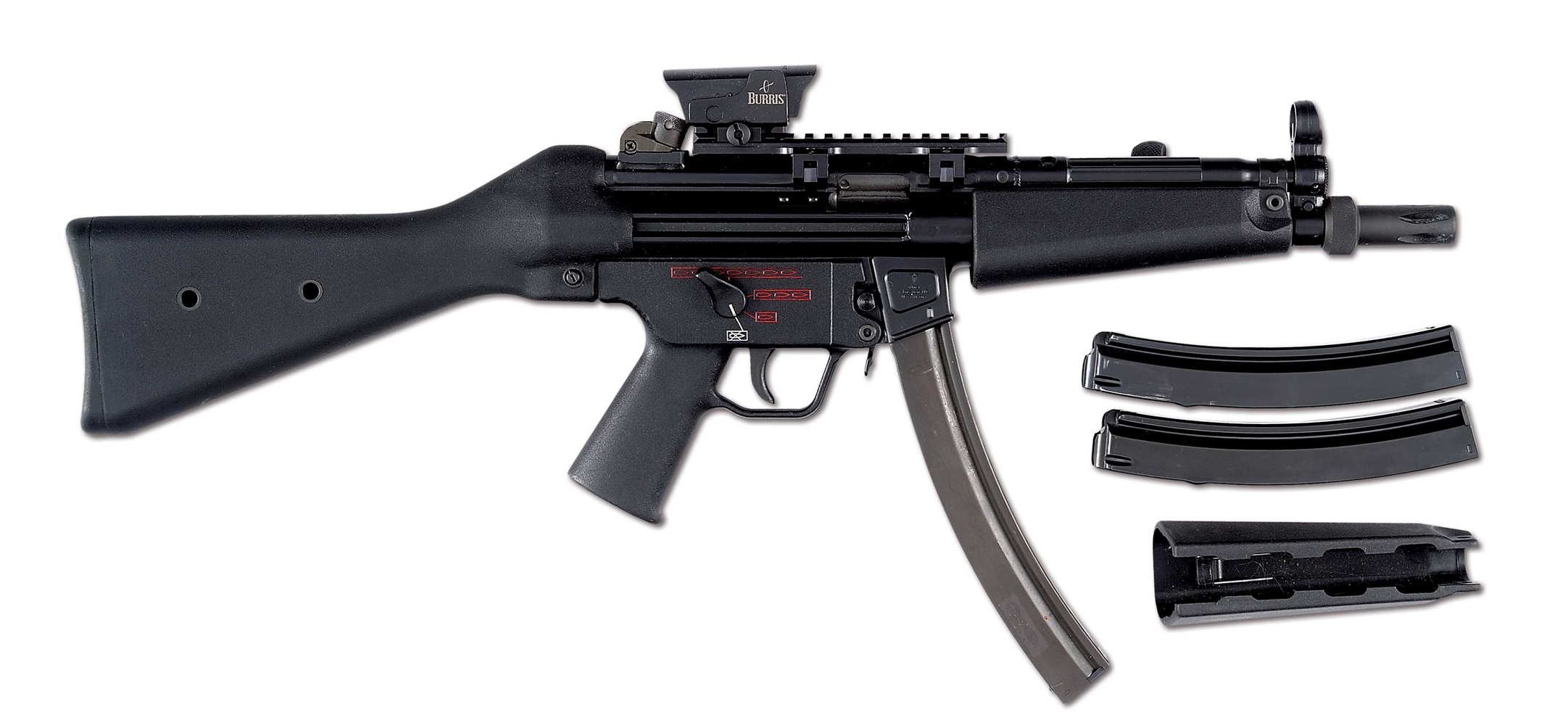 (N) HIGHLY SOUGHT FLEMING REGISTERED H&K AUTO-SEAR PACK REGISTERED IN MULTIPLE CALIBERS ON MP5 HOST GUN (FULLY TRANSFERABLE).