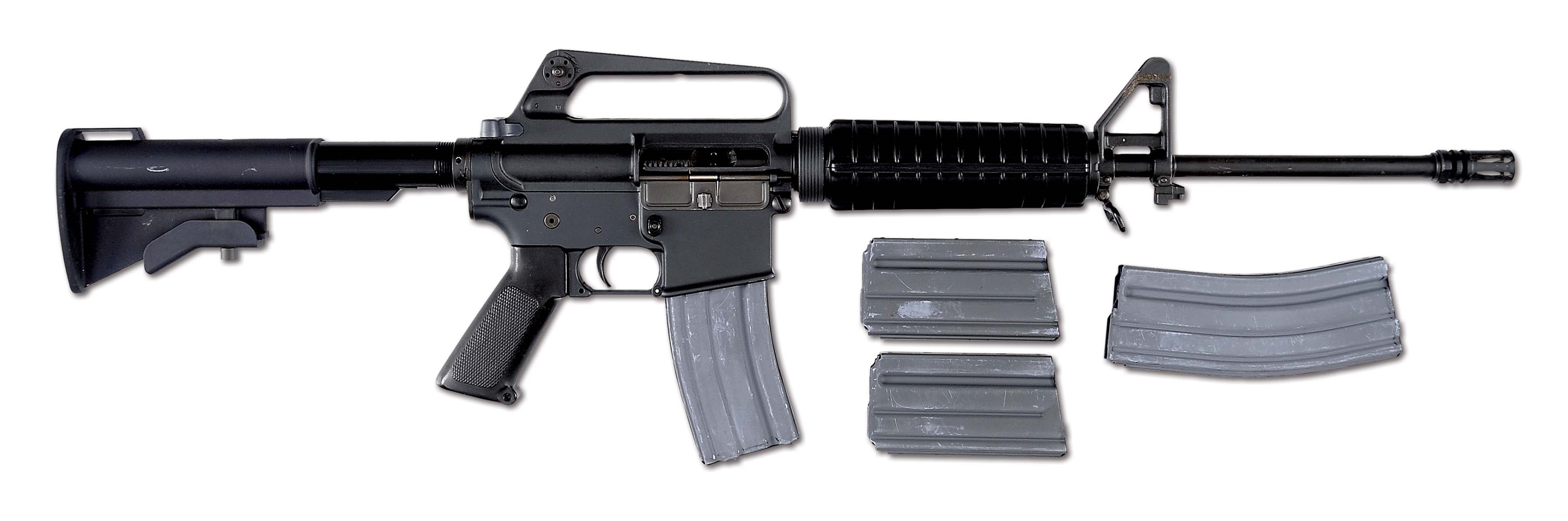 (N) TYROL REGISTERED COLT AR15 SP1 MACHINE GUN WITH TELESCOPING STOCK (FULLY TRANSFERABLE).
