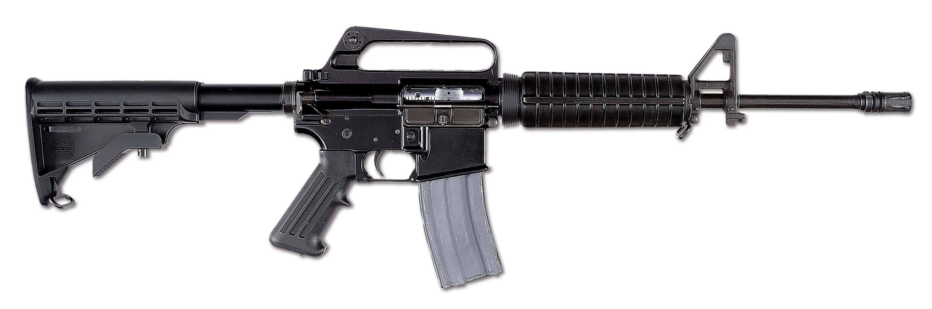 (N) Fine Olympic Arms Registered M16 Clone with Telescoping Stock (Fully Transferable).