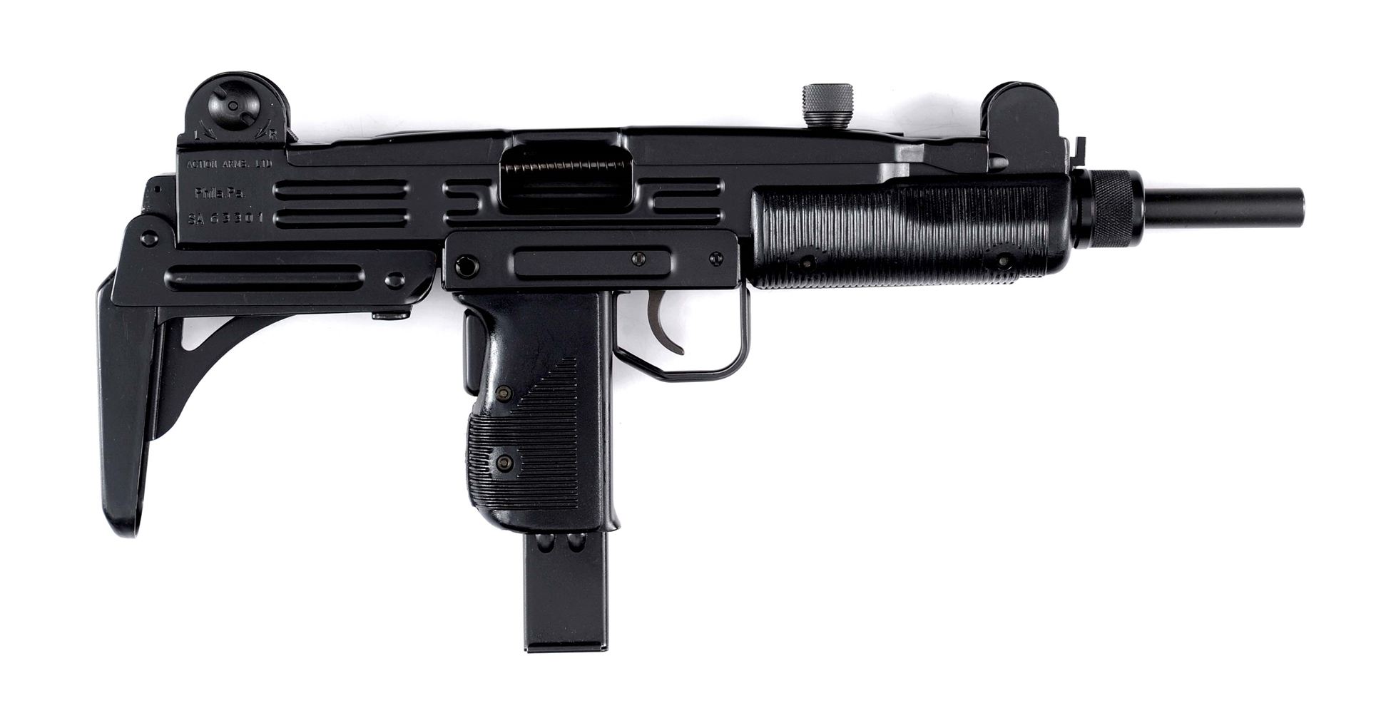(N) Fleming Registered Auto Sear in Minty Action Arms Uzi Machine Gun (Fully Transferable).