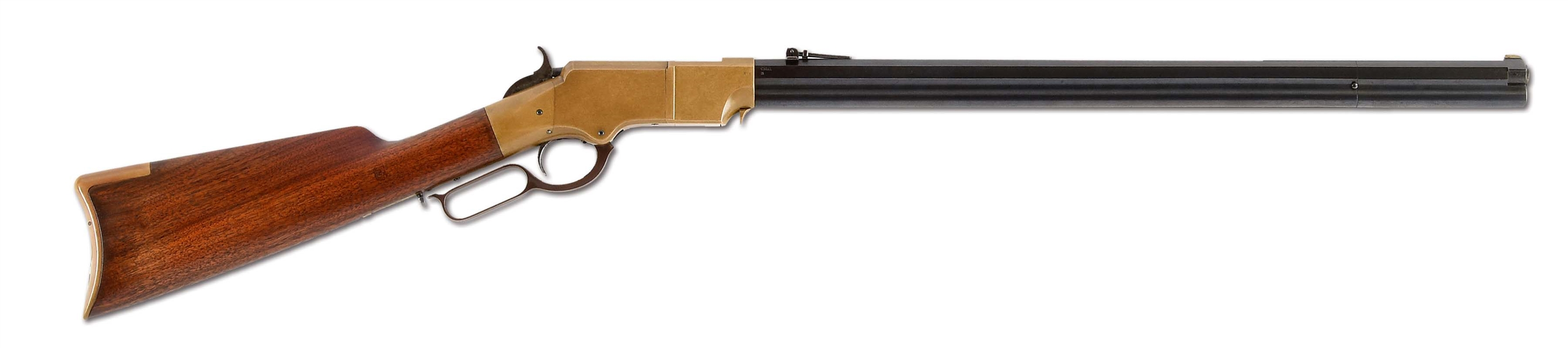 (A) Extraordinary Martially Marked Henry Repeating Rifle (1863).