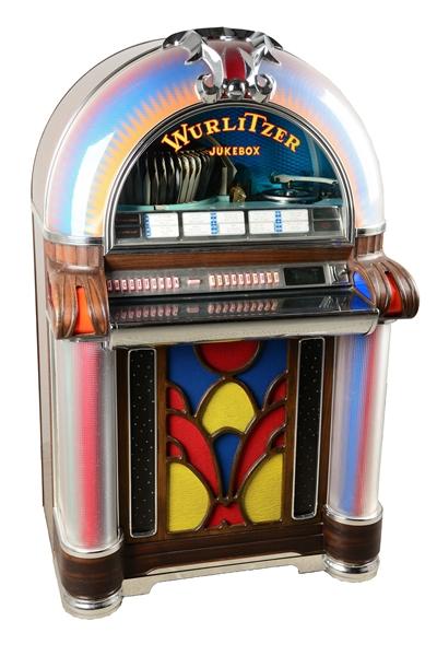 Lot Detail - Multi-Coin Operated Wurlitzer Model 1050 Jukebox