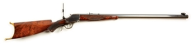 (C) EXCEPTIONAL WINCHESTER MODEL 1885 DELUXE SINGLE SHOT RIFLE (.40-90 SS).