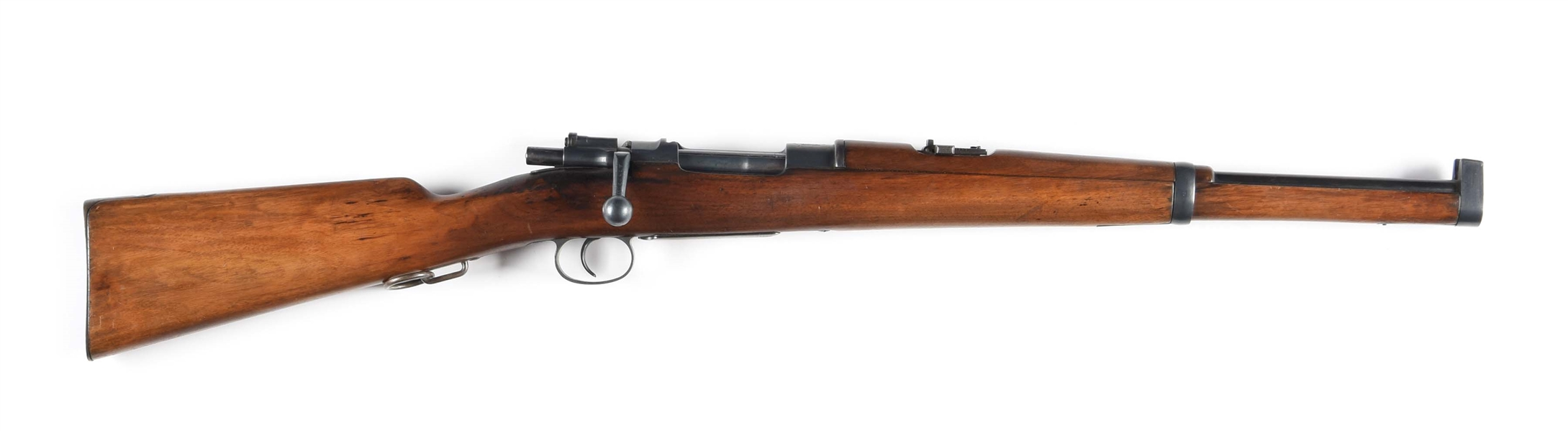 Lot Detail - (A) Spanish Mauser Model 1893 Carbine, Loewe Dated 1894