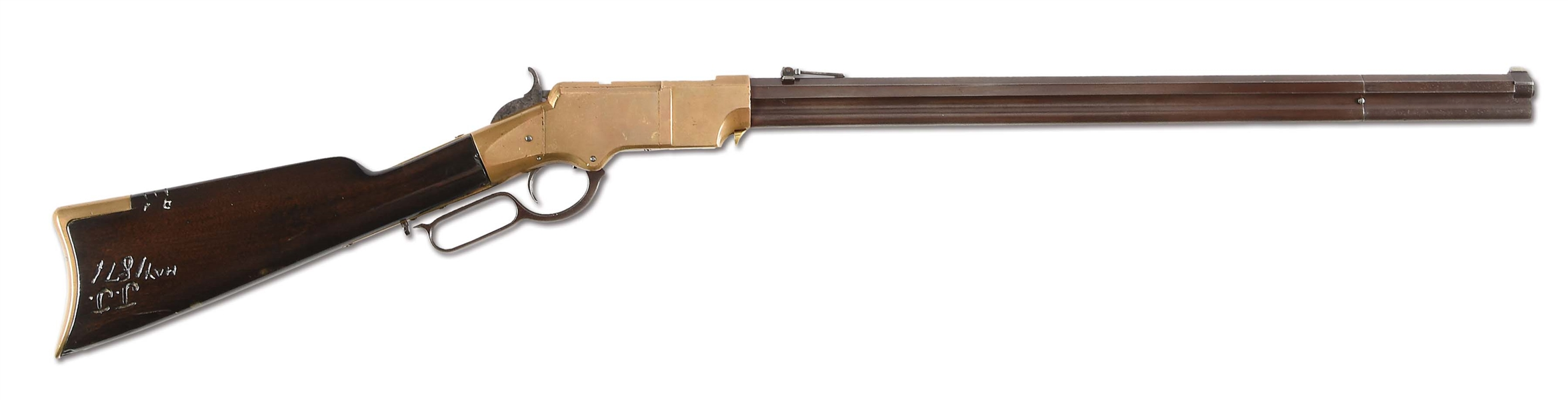 (A) NEW HAVEN ARMS MODEL 1860 HENRY RIFLE (2454)