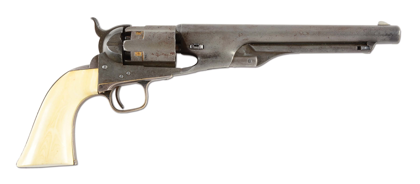 (A) 1ST YEAR PRODUCTION INSCRIBED COLT MODEL 1860 ARMY PERCUSSION REVOLVER (1860).