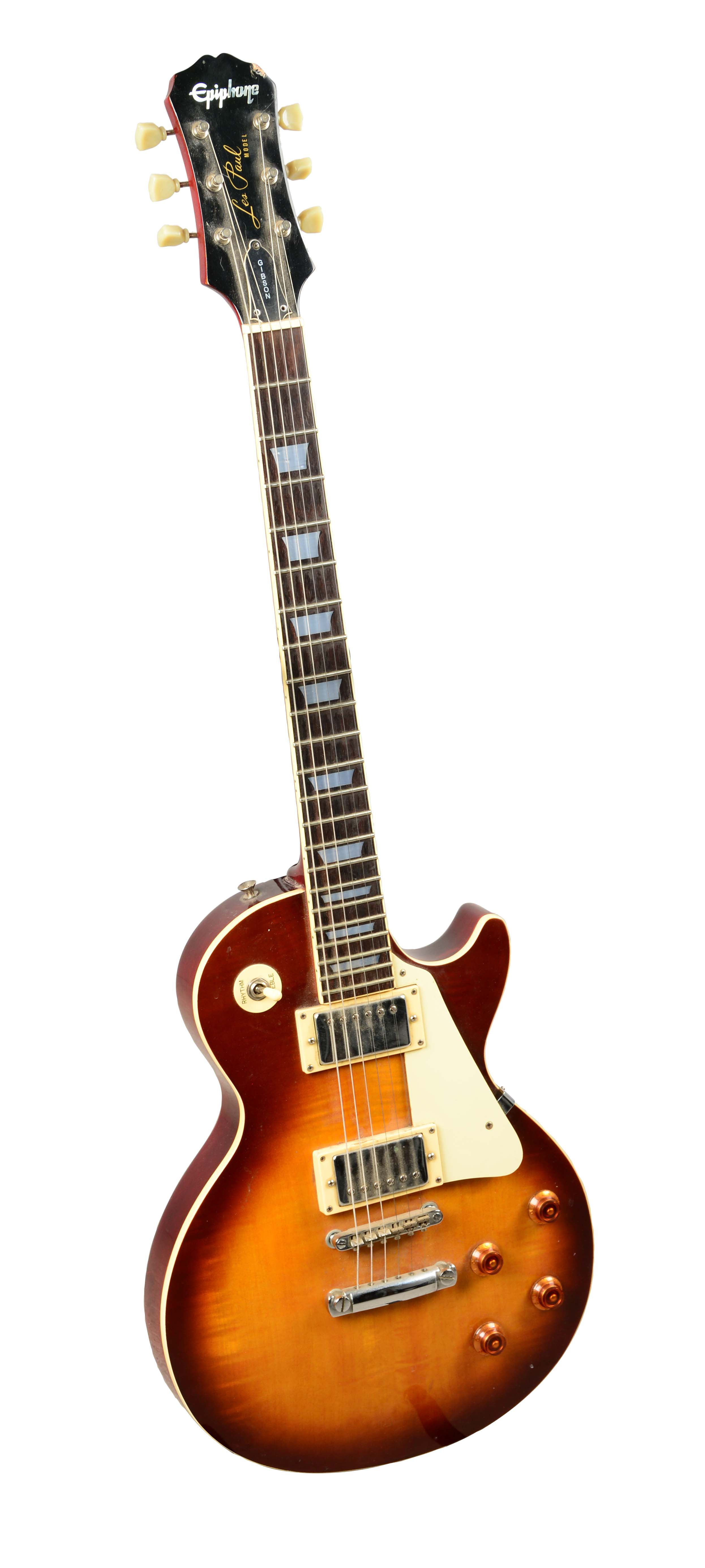 lot detail epiphone gibson les paul electric guitar. Black Bedroom Furniture Sets. Home Design Ideas