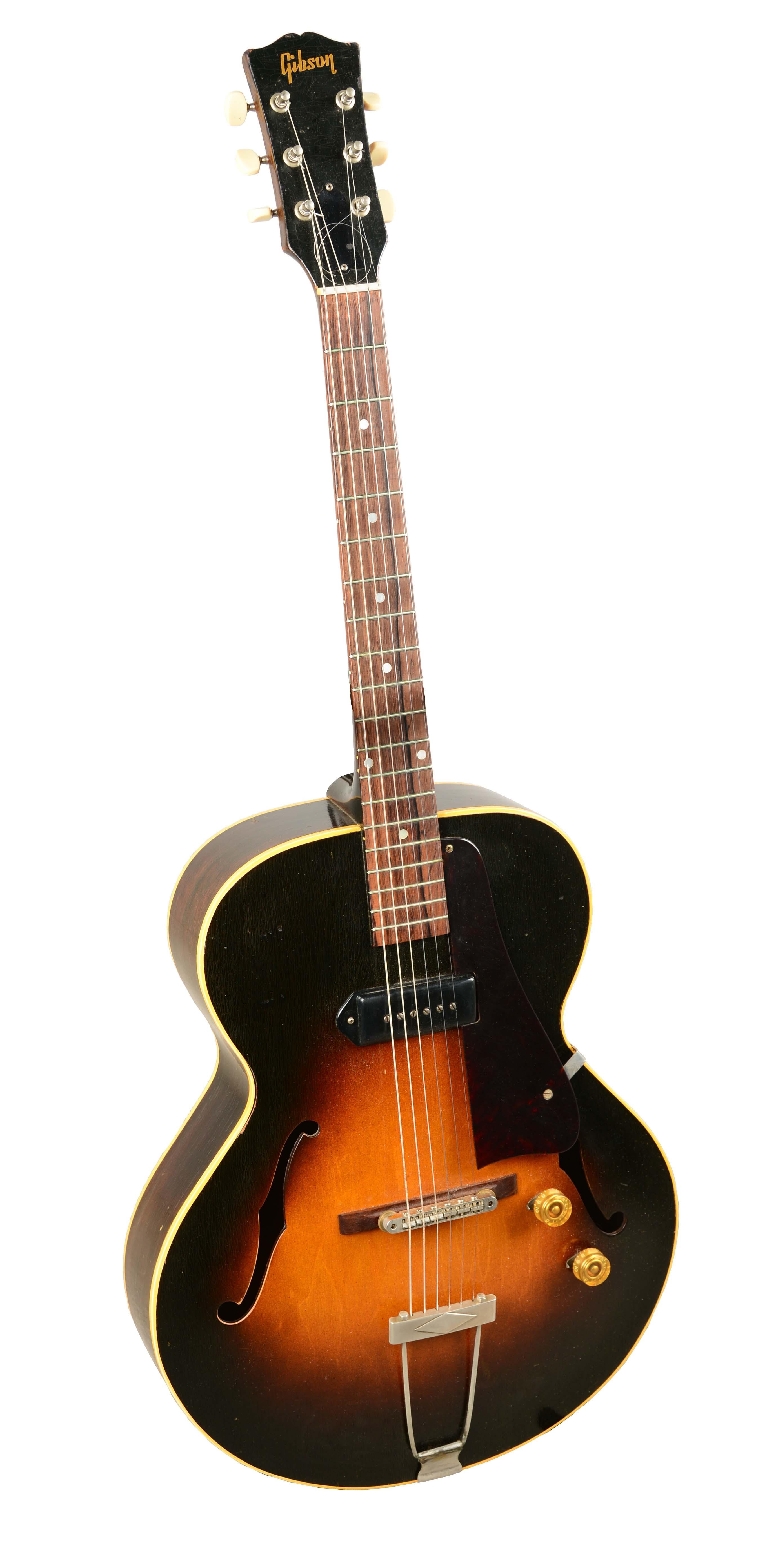 lot detail gibson es 125 acoustic electric guitar. Black Bedroom Furniture Sets. Home Design Ideas