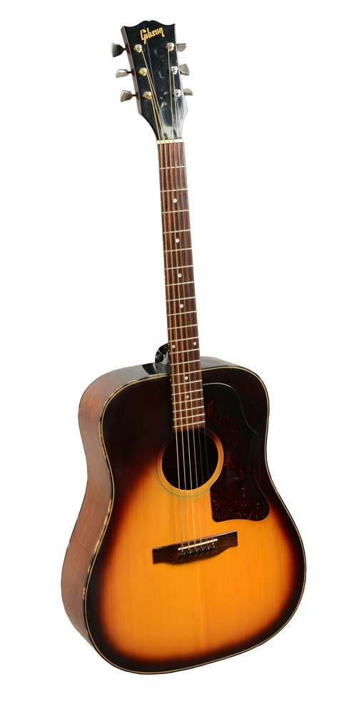 Gibson Model J-45 Deluxe Acoustic Guitar.