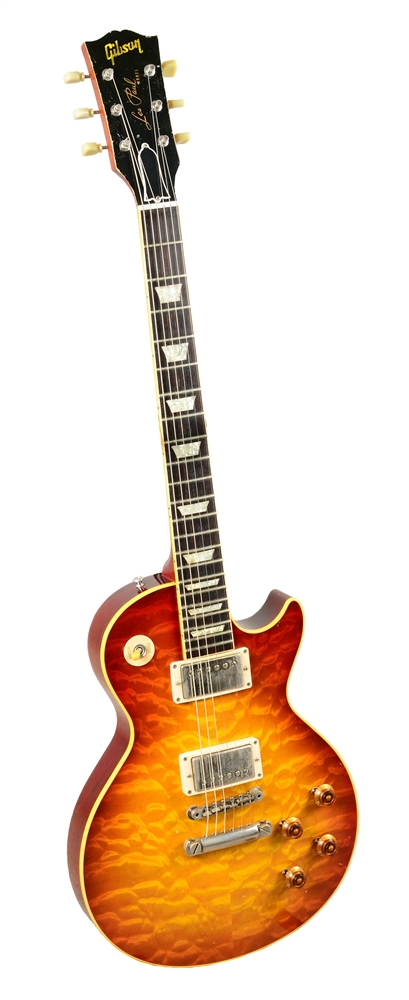 Gibson Les Paul Quilt Top Electric Guitar.