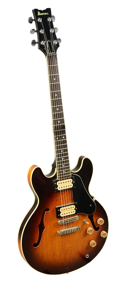 Ibanez AS-50 Hollow-Body Electric Guitar.