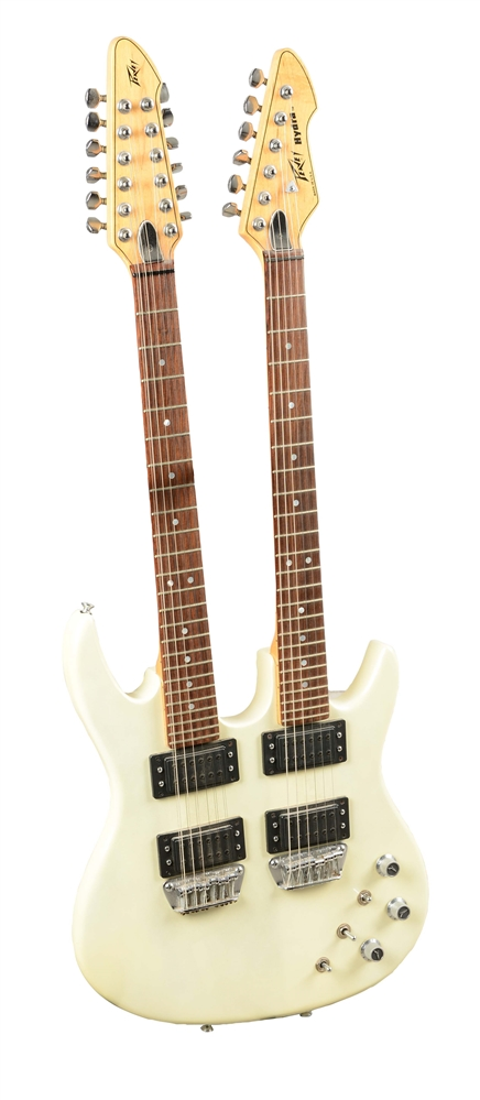 Peavey Hydra Double-Neck Electric Guitar.