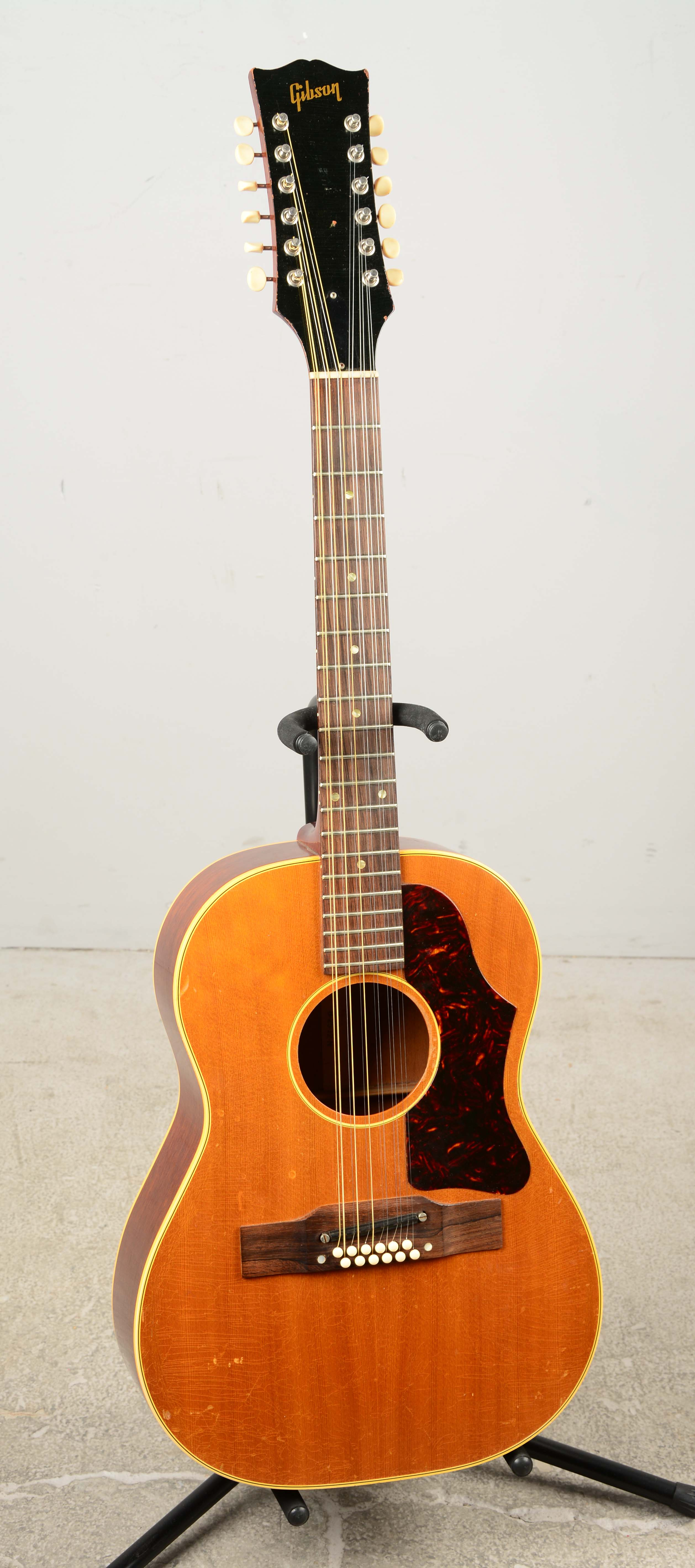 lot detail gibson b25 12n 12 string acoustic guitar. Black Bedroom Furniture Sets. Home Design Ideas