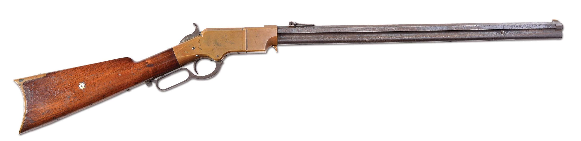 (A) NEW HAVEN ARMS HENRY LEVER ACTION RIFLE (1864).