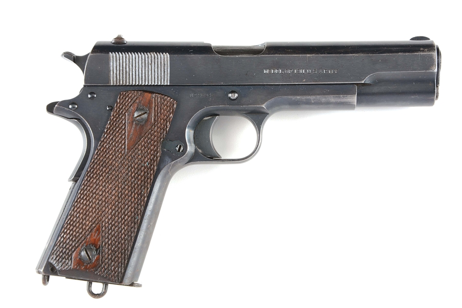 (C) HIGH CONDITION US COLT MODEL 1911 MODEL SEMI-AUTOMATIC PISTOL (1913).