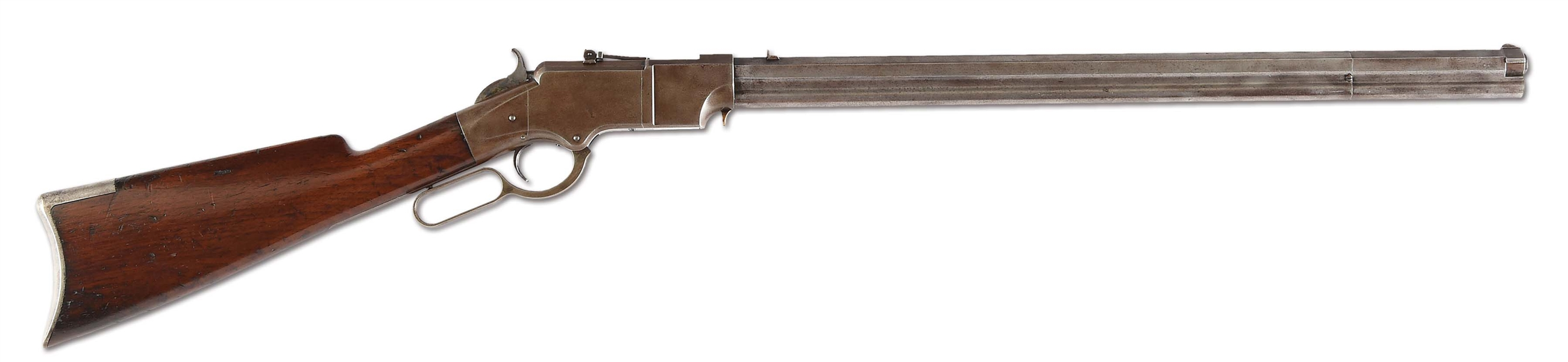 (A) OUTSTANDING NEW HAVEN ARMS 1ST MODEL IRON FRAME HENRY RIFLE (1862).