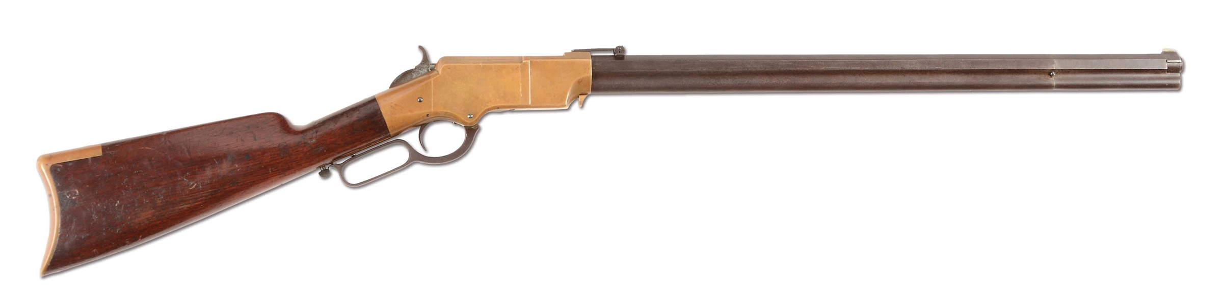 (A) EARLY NEW HAVEN ARMS MARTIAL MARKED HENRY RIFLE (1863).