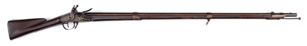 "(A) EXTREMELY RARE EARLY PRODUCTION 1795 SPRINGFIELD MUSKET WITH ""MARYLAND"" BRAND."